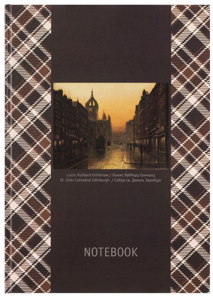 Action! Блокнот Шотландка 80 листов в клетку формат А4 цена