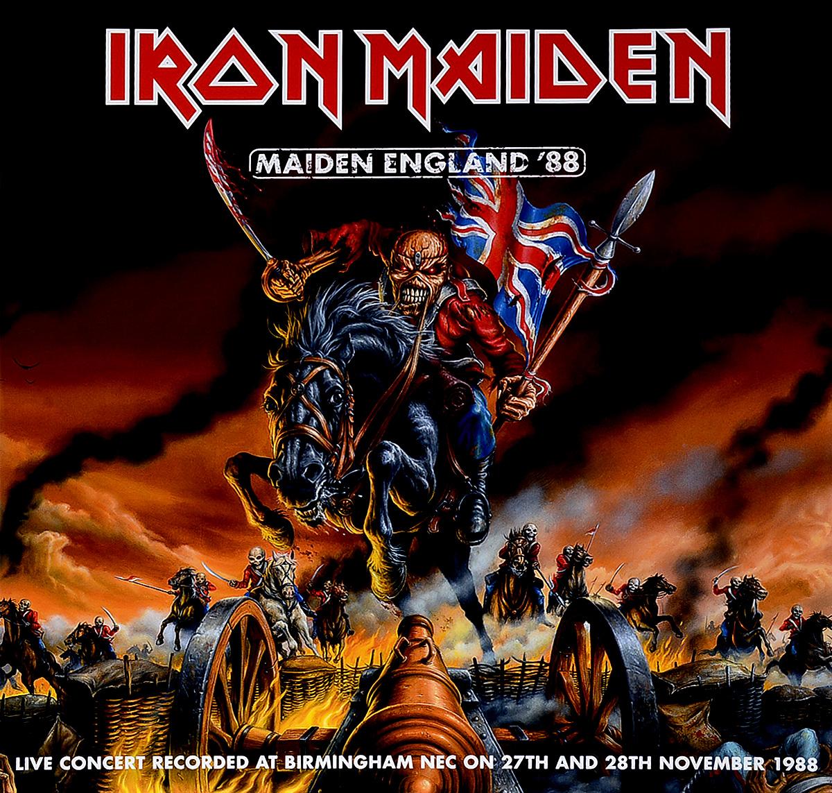 Iron Maiden Iron Maiden. Maiden England `88 (2 LP)