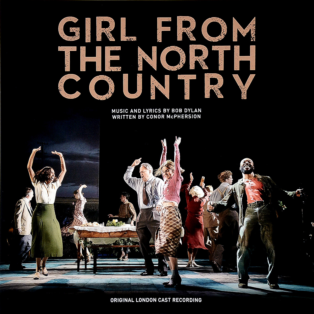 Original London Cast Recording. Girl From The North Country (2 LP) from london leipzig