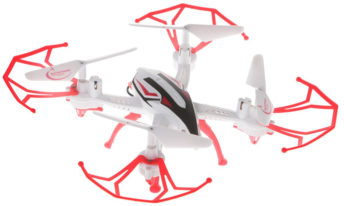 Властелин небес Квадрокоптер на радиоуправлении Зоркий цвет белый красный