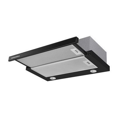Встраиваемая вытяжка MAUNFELD VS SLIDE 60 чёрный/черное стекло Габариты (вхшхг) (см): 18х60х31-48 Производительность (куб. м/час)...