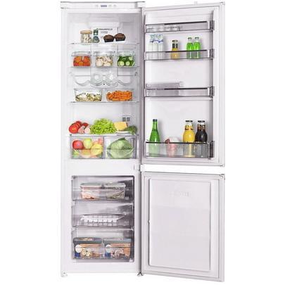 Встраиваемый двухкамерный холодильник MAUNFELD MBF. 177 NFW Габариты (вхшхг) (см): 177,3х54х54,8 Объем холодильника (л):...