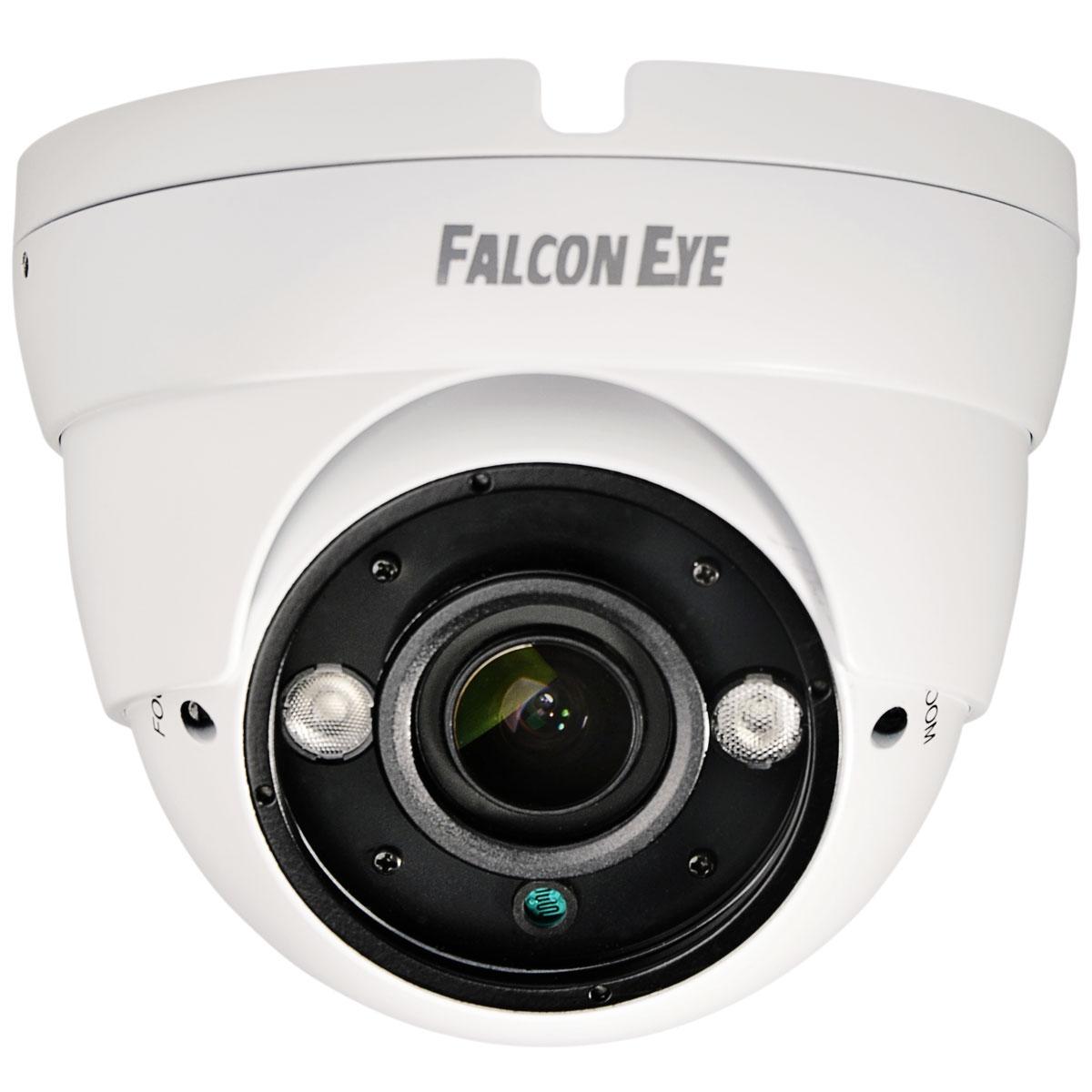 Falcon Eye FE-IDV1080MHD/35M-AF, White камера видеонаблюдения камера falcon eye fe id1080mhd 20m 2 8 уличная купольная гибриднаяahd видеокамера 1080p ahd cvi tvi cvbs 1 2 8 sony imx323 exmor cmos 1920 108