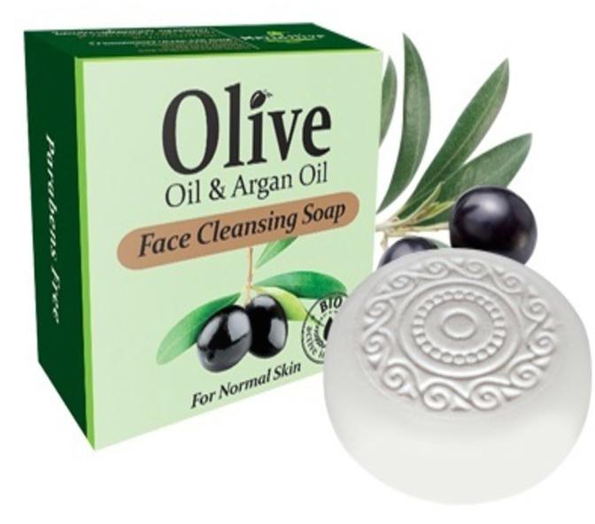 HerbOliveМыло для умывания с маслом арганы для нормальной кожи 100 г HerbOlive