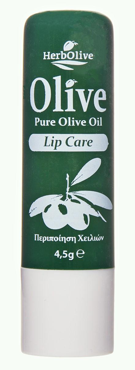 HerbOlive Гигиеническая губная помада с маслом оливы 4,5 г недорго, оригинальная цена