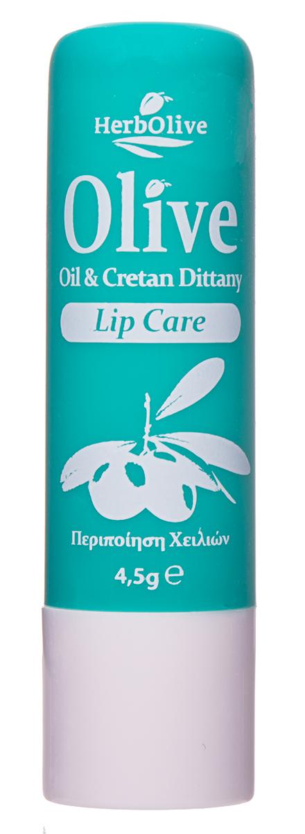 HerbOlive Гигиеническая губная помада с диктамосом (критская душица) 4,5 г недорго, оригинальная цена