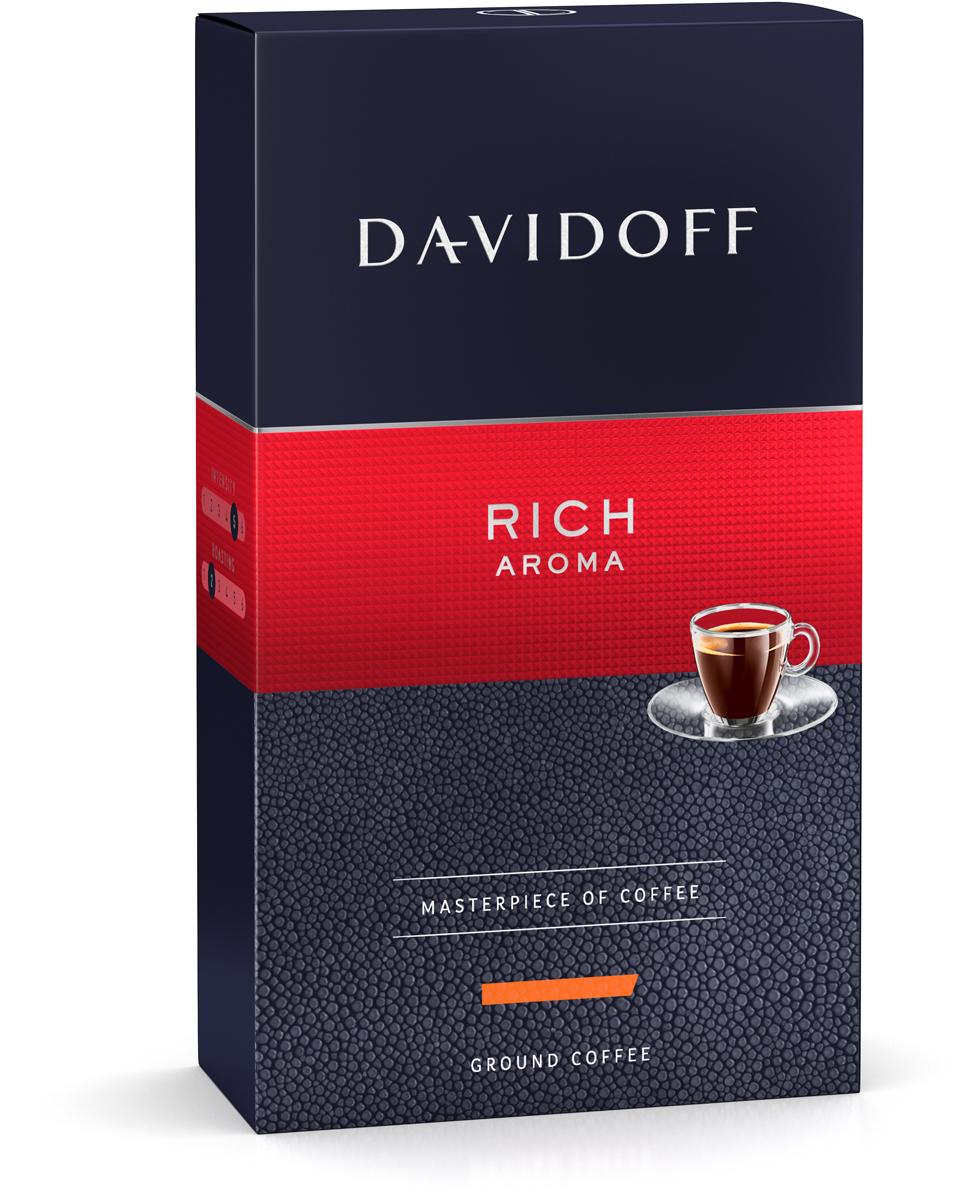 Davidoff Rich кофе молотый, 250 г4898Кофе Davidoff Cafe Grande Cuvee - это истинный шедевр кофейного искусства, созданный сомелье Davidoff Cafe. Для создания этих совершенных кофейных композиций используются только специально отобранные зерна сорта Арабика. Безупречное качество этого кофе покорит самых искушенных ценителей. Davidoff Cafe Rich Aroma - это восхитительное сочетание насыщенного вкуса с элегантной кислинкой, дополненное пикантными, легкими фруктовыми нотками. Кофе: мифы и факты. Статья OZON Гид Рекомендуем!