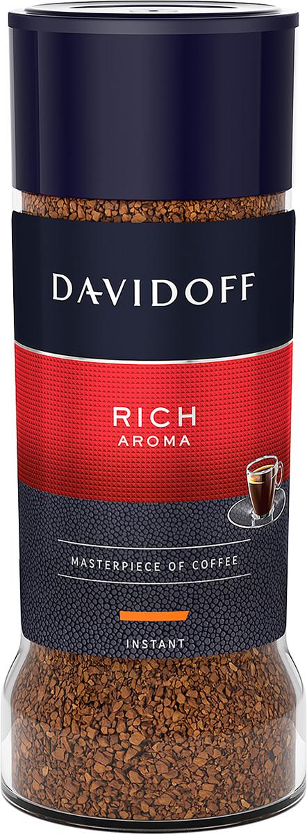Davidoff Rich кофе растворимый, 100 г