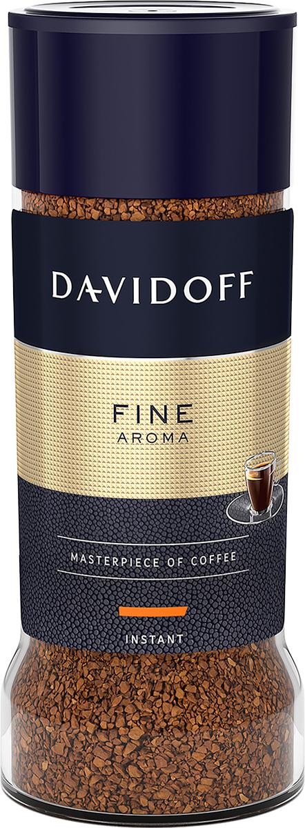 Davidoff Fine кофе растворимый, 100 г