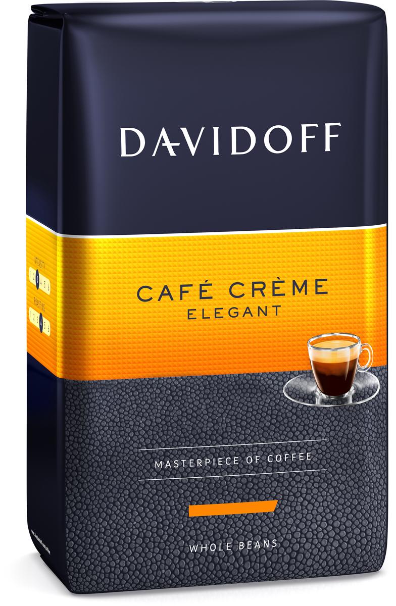 Davidoff Cafe Creme кофе в зернах, 500 г92045Тайна лучшего кофе кроется в трех составляющих: в качестве зерен, составе и правильном приготовлении. Поэтому Davidoff доверяет работу с лучшими зернами только лучшим экспертам. Затем правильная обжарка доводит зерна до совершенства, имя которому Davidoff Cafe Creme. Эта эксклюзивная, тщательно подобранная смесь лучших зерен высокогорных сортов Центральной и Южной Америки подходит для любых случаев и им можно наслаждаться в течение всего дня. Аромат, который не спутаешь ни с чем, золотистая пенка крема, насыщенный вкус - все удовольствия в одной чашке кофе!