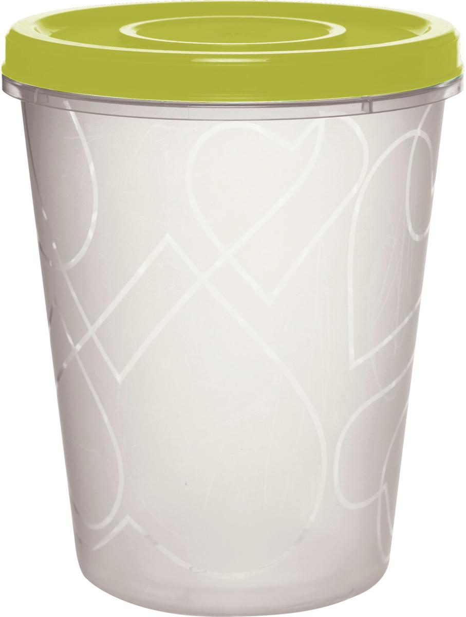 Емкость для продуктов Giaretti, цвет: оливковая роща, с завинчивающейся крышкой 1 л емкость для продуктов giaretti цвет оливковая роща 1 35 л