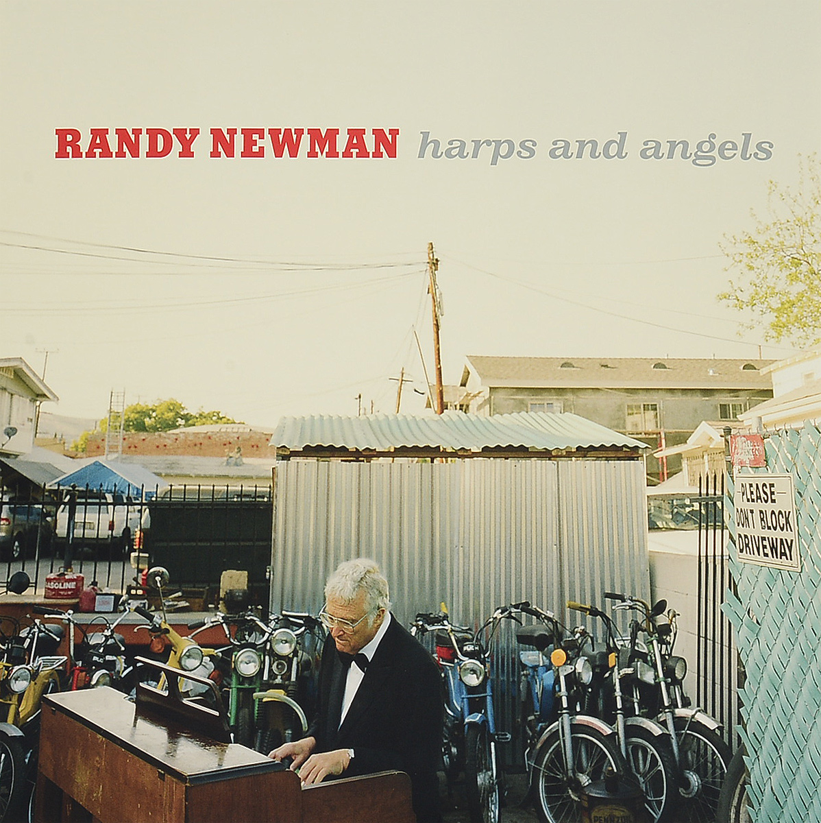 Рэнди Ньюмен Randy Newman. Harps And Angels (LP) randy newman randy newman the randy newman songbook 4 lp
