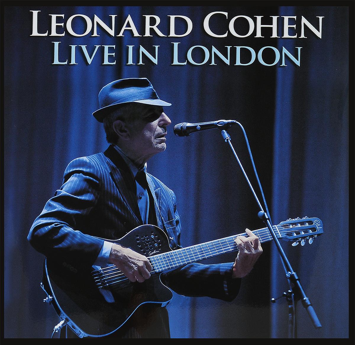 Леонард Коэн Leonard Cohen. Live In London (3 LP) цена 2017
