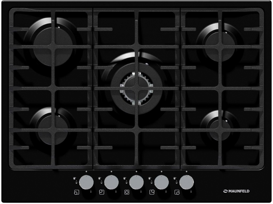 Варочная панель MAUNFELD MGHE. 75. 78B черный . ...