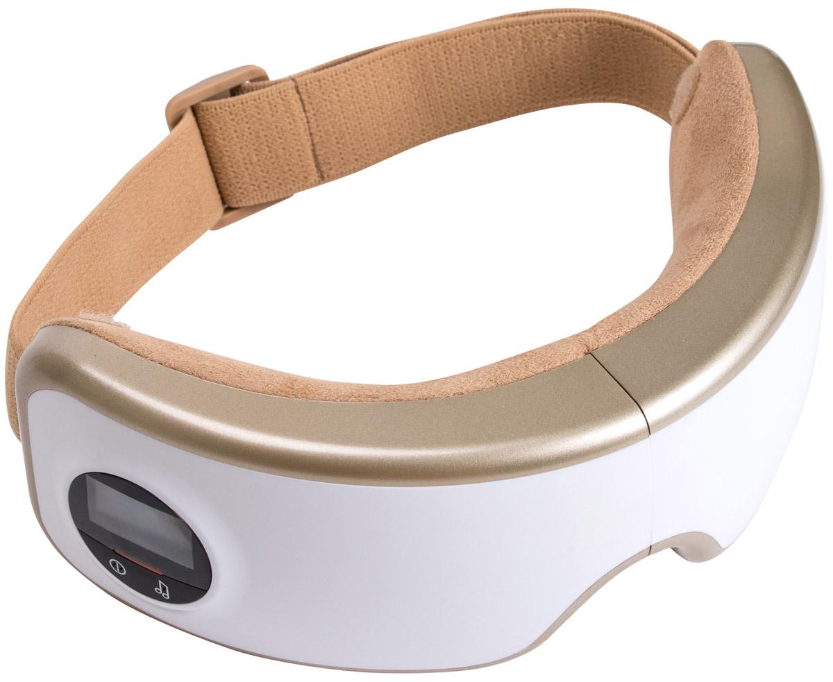 Массажер для лица Gezatone Deluxe ISee 400 пневмо- и вибромассаж глаз с мягким прогревом и звуковой терапией 1301199 массажер для глаз deluxe isee 400 gezatone
