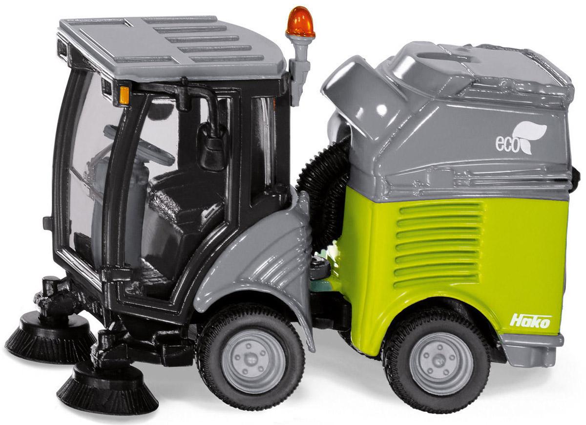 Siku Моющая машина цвет серый зеленый siku машина с домом на колесах