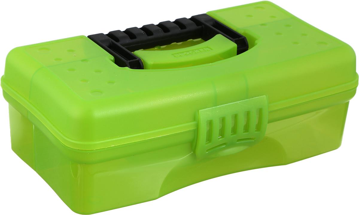 Органайзер Blocker Hobby Box, цвет: зеленый, 23,5 х 13 х 8 см цена