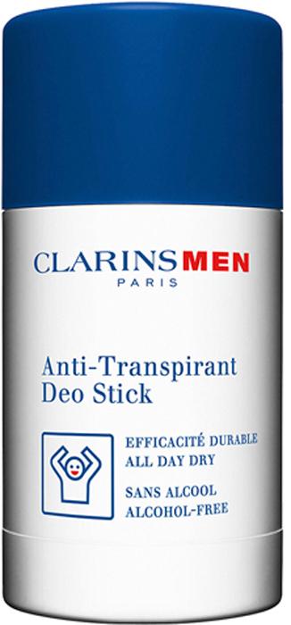 Clarins Дезодорант-стик антиперспирант Men Stick Antiperspirant, 75 г цена