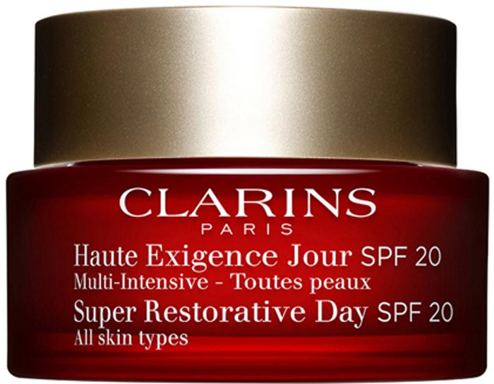 Clarins Восстанавливающий дневной крем интенсивного действия Multi-Intensive, SPF 20 50 мл