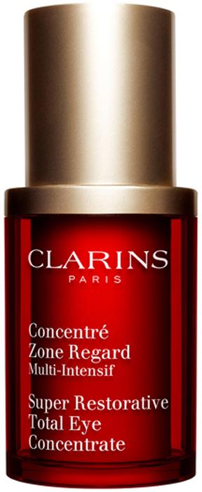 Clarins Восстанавливающий концентрат интенсивного действия для ухода за кожей вокруг глаз Concentre Zone Regard, 15 мл