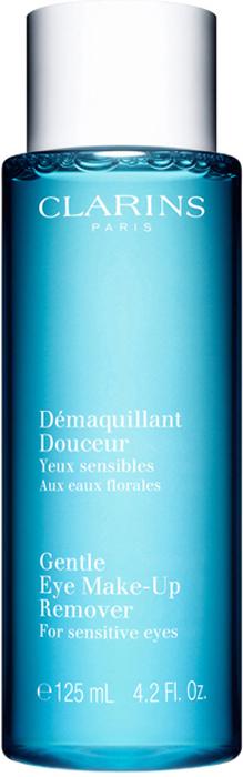 Clarins Смягчающий лосьон для удаления макияжа с глаз Demaquillant Douceur, 125 мл