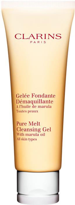 ClarinsОчищающий гель для умывания c маслом марулы Gelee Fondante Demaquillante, 125 мл Clarins
