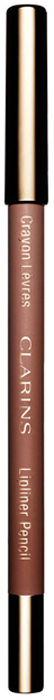Clarins Карандаш для губ Crayon Levres 01 1,2 г by terry crayon levres terrybly 3 цвет 3 dolce plum variant hex name bc6c75
