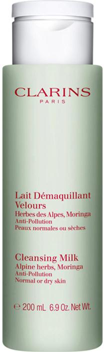 Clarins Молочко для удаления макияжа для сухой или нормальной кожи Lait Demaquillant, 200 мл