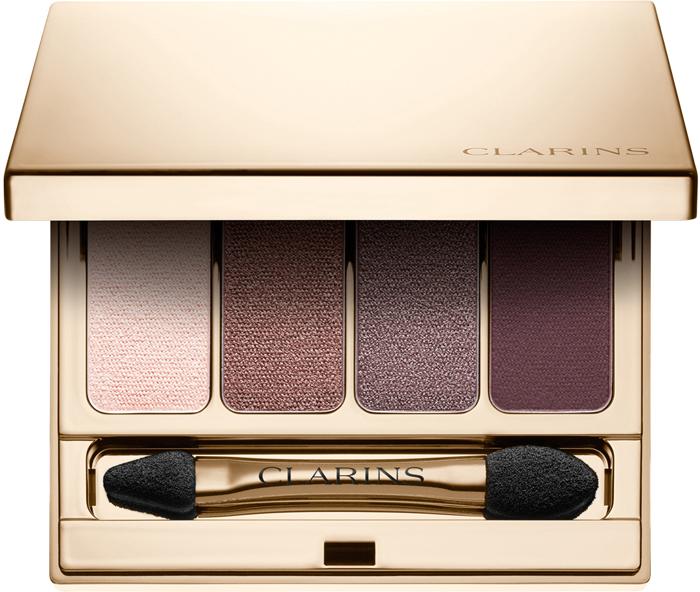 Clarins Четырехцветные тени для век Palette 4 Couleurs 02, 6,9 г guerlain palette 5 couleurs тени для век 02 императорские бобы тонка