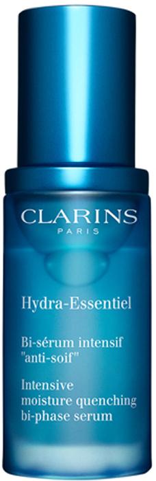Clarins Интенсивно увлажняющая двухфазная сыворотка Hydra-Essentiel, 30 мл