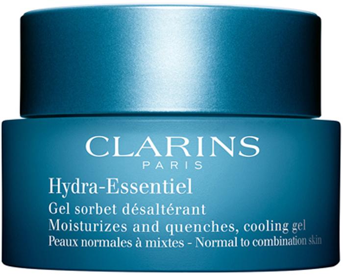 Clarins Интенсивно увлажняющий гель для нормальной и комбинированной кожи Hydra-Essentiel, 50 мл