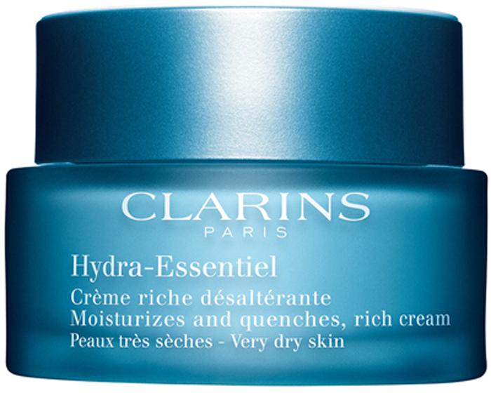 Clarins Интенсивно увлажняющий крем для сухой кожи Hydra-Essentiel, 50 мл