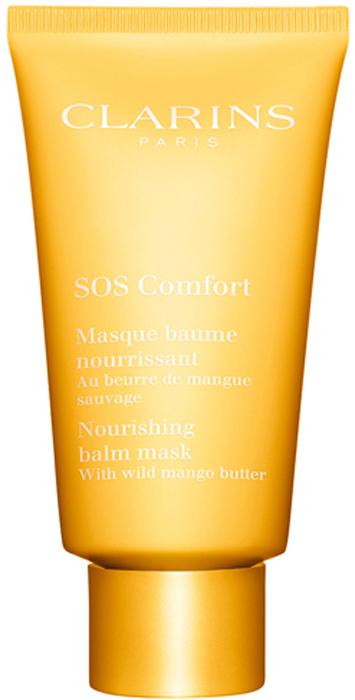 Clarins Питательная маска с маслом манго SOS Comfort, 75 мл80030995Маска с обволакивающей питательной текстурой всего за 10 минут дарит ощущение комфорта даже самой сухой коже. Благодаря интенсивному питанию кожа чувствует себя комфортно, становится более нежной, упругой и сияющей.