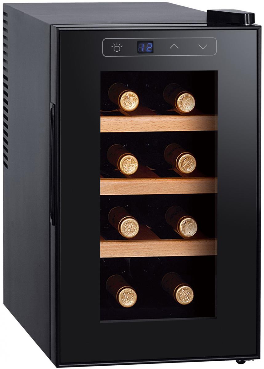 лучшая цена Винный шкаф Gemlux GL-WC-8W, Black