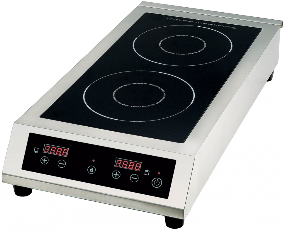 Плита Gemlux GL-IP3535, Silver Black, электрическая плита gemlux gl ic3505