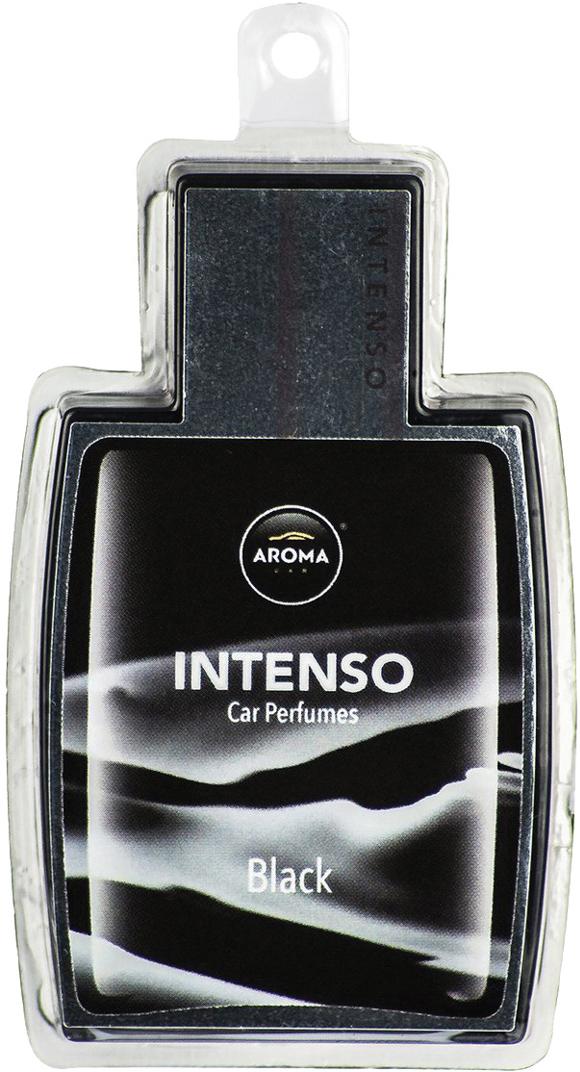 Ароматизатор автомобильный Aroma Car Intenso Perfume Black Jack, подвесной. AC92174 автомобильный ароматизатор golden snail aroma football ванильный крем