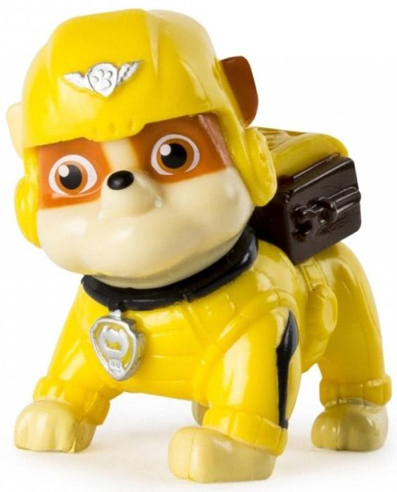 Фото - Paw Patrol Фигурка Rubble paw patrol мини фигурка щенячий патруль щенок rubble 16612 20066913