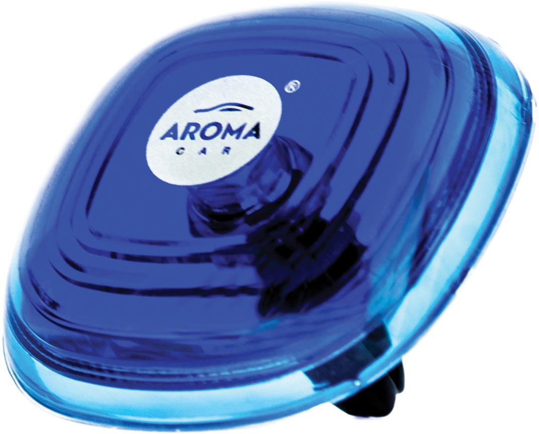 Ароматизатор автомобильный Aroma Car Loop Gel Aqua, на дефлектор. AC63114 ароматизатор автомобильный fouette капучино на дефлектор