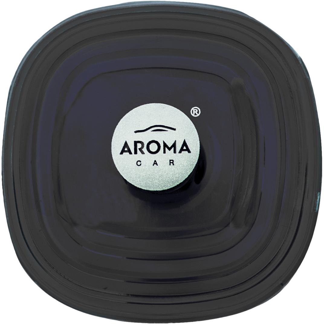 Ароматизатор автомобильный Aroma Car Loop Gel Black, на дефлектор. AC63113 ароматизатор автомобильный fouette капучино на дефлектор