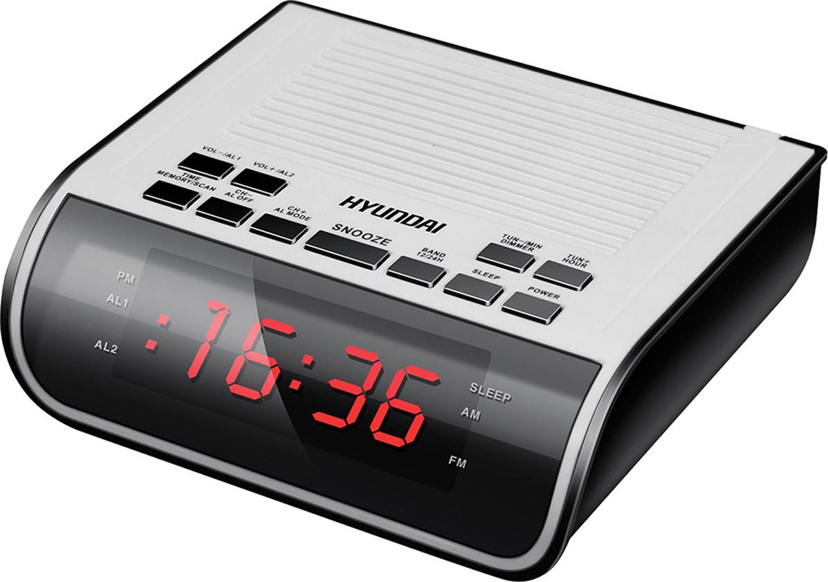 Радио-будильник Hyundai H-RCL100 цена 2017