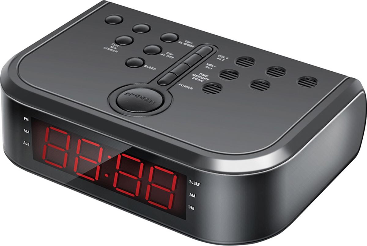 Радио-будильник Hyundai H-RCL120 радиобудильник philips aj3400 12