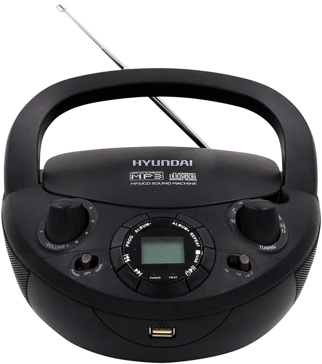 Магнитола Hyundai H-PCD200, Black hyundai h hu6e 3 0 ui053