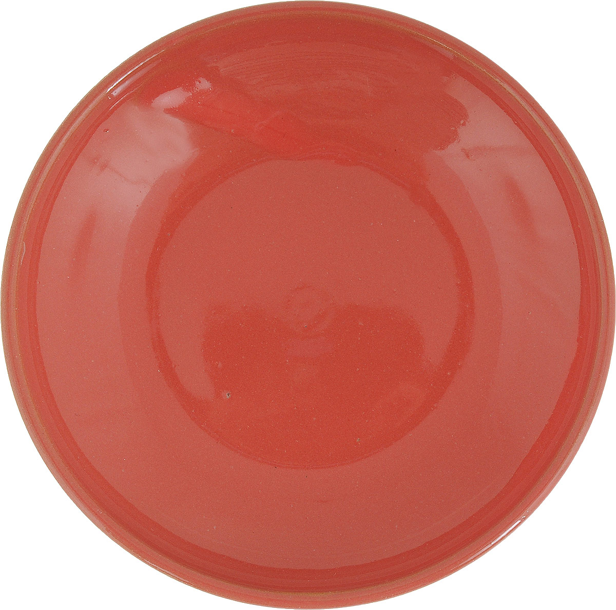 Фото - Блюдце Борисовская керамика Радуга, цвет: коралловый, диаметр 10 см блюдце борисовская керамика радуга цвет темно серый диаметр 10 см