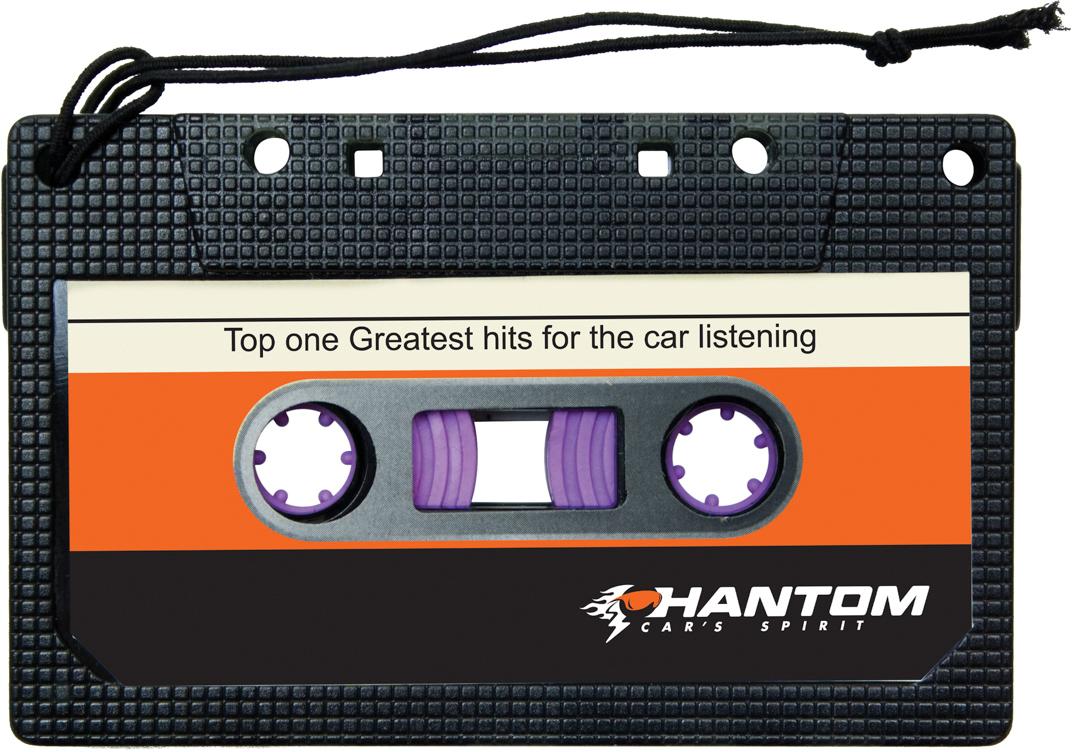 Ароматизатор автомобильный Phantom Stereo. Новая машина, подвесной. PH3653 ароматизатор phantom stereo новая машина
