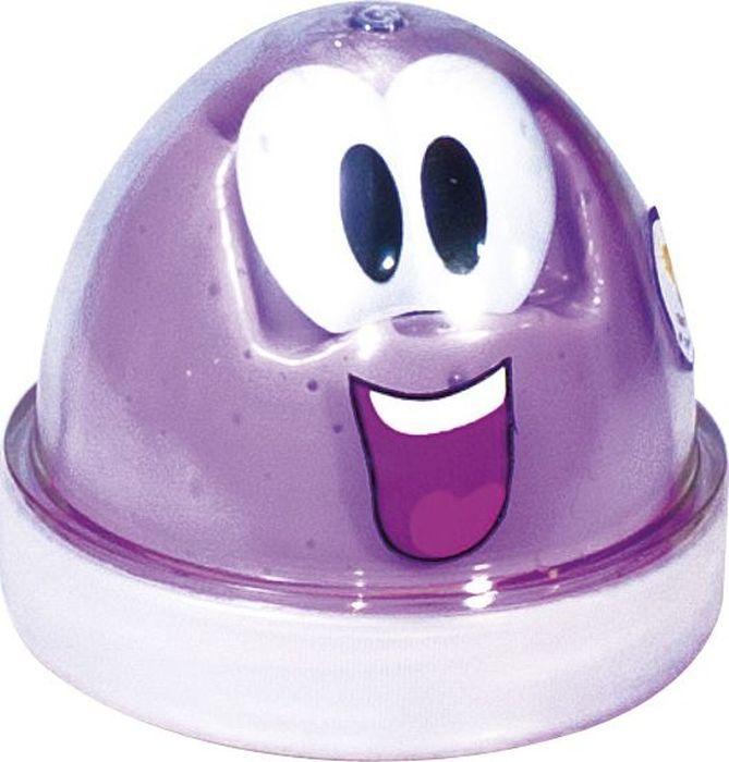 Genio Kids Пластилин Smart Gum светящийся в темноте цвет сиреневый