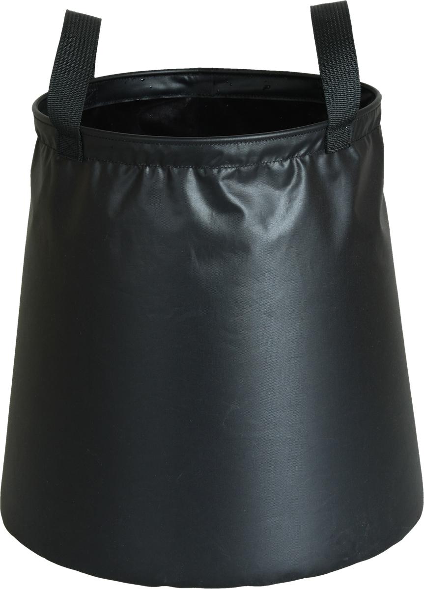 Ведро походное Сплав, цвет: черный, 8 л перчатки мужские сплав catch цвет черный 1581320 размер 8