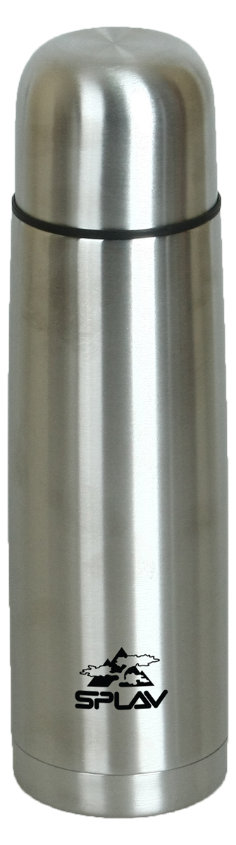 "Термос ""Сплав"", цвет: серый металлик, 0,5 л. SB-500"