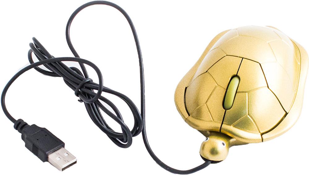 лучшая цена Мышь Эврика Черепаха, Gold