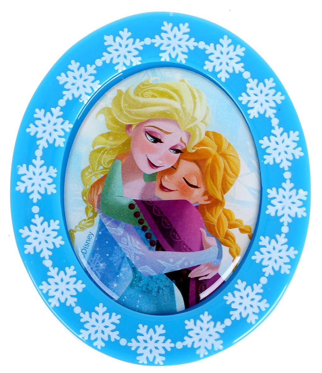 """Магнит-рамка Disney """"Анна и Эльза"""", 5,2 х 6,2 см. 1256850"""