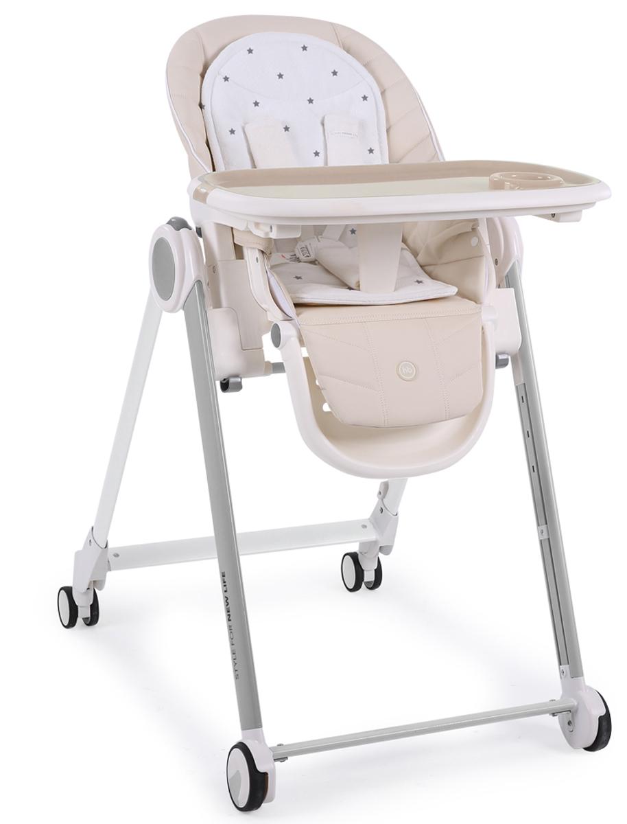 Happy Baby Стул для кормления Berny до 25 кг цвет: beige stars